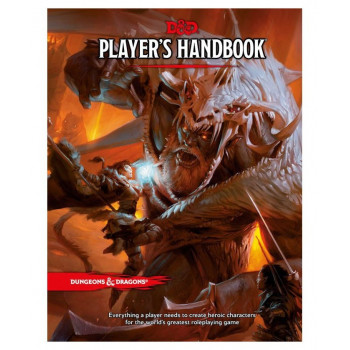 DUNGEONS & DRAGONS PLAYER'S HANDBOOK (INGLES) D&D