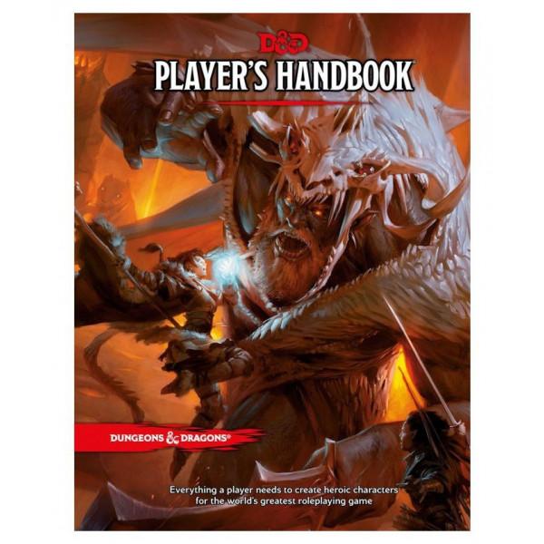 DUNGEONS & DRAGONS PLAYER'S HANDBOOK (INGLES) D&D