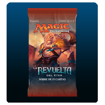 MAGIC - SOBRE 15 CARTAS LA REVUELTA DEL ETER