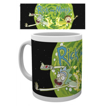 TAZA LOGO RICK Y MORTY