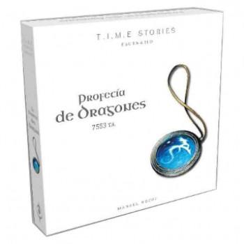 T.I.M.E. STORIES ESCENARIO 2: PROFECIA DE DRAGONES