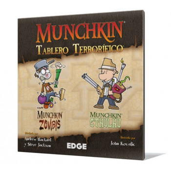 MUNCHKIN TABLERO TERRORIFICO