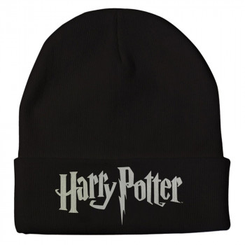 GORRO NEGRO LOGO. HARRY POTTER