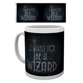TAZA I WANT TO BE A WIZARD....