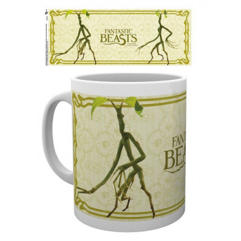 TAZA BOWTRUCKLE. ANIMALES...
