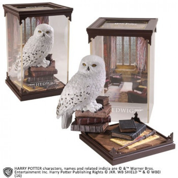 ESTATUA HEDWIG MAGICAL CREATURES. HARRY POTTER