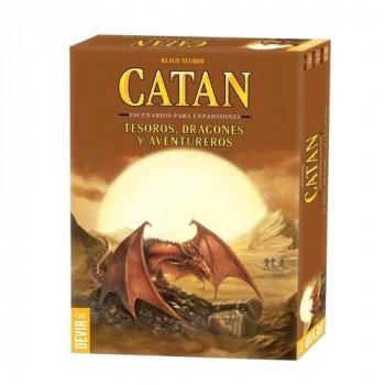 CATAN - DRAGONES, TESOROS Y AVENTUREROS (ESCENARIOS PARA EXPANSIONES DE CATAN)