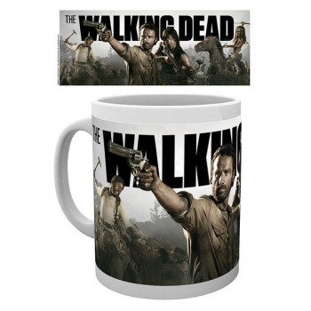 TAZA RICK, MICHONNE, DARYL, TYRESSE. THE WALKING DEAD
