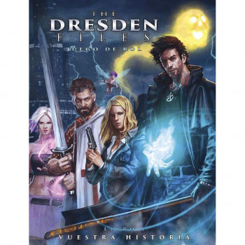 MANUAL + PANTALLA GRATIS - THE DRESDEN FILES (OFERTA DIA DEL MASTER)