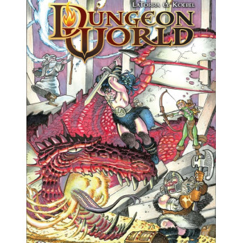MANUAL + PANTALLA GRATIS - DUNGEON WORLD (OFERTA DIA DEL MASTER)