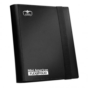 ALBUM PARA CARTAS 20 PAGINAS ULTIMATE GUARD MINI AMERICAN 9-POCKET FLEXXFOLIO NEGRO