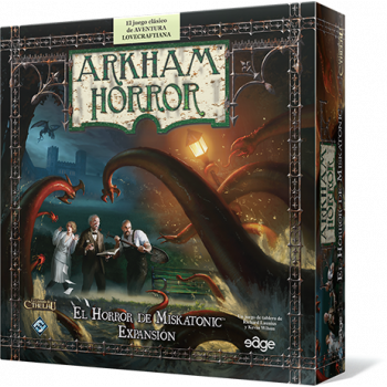 ARKHAM HORROR: EL HORROR DE MISKATONIC - EXPANSION