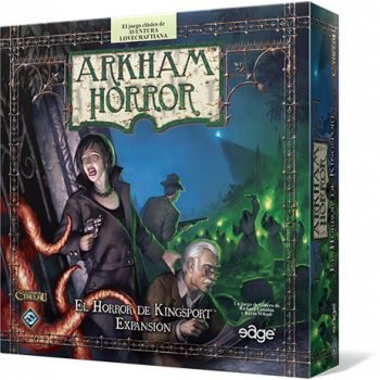 ARKHAM HORROR: EL HORROR DE KINGSPORT - EXPANSION