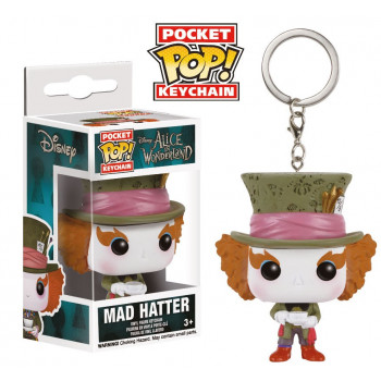 POCKET POP! LLAVERO MAD HATTER. ALICIA EN EL PAIS DE LAS MARAVILLAS