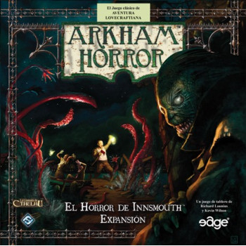 ARKHAM HORROR: EL HORROR DE INNSMOUTH - EXPANSION