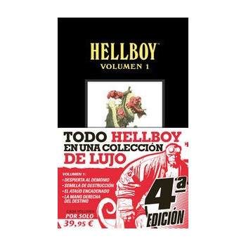 HELLBOY. EDICIÓN INTEGRAL VOL. 01