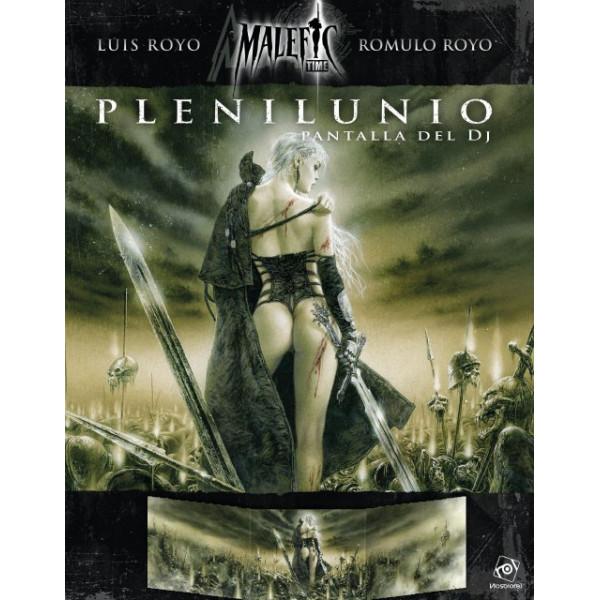 PANTALLA DEL DJ - PLENILUNIO (MALEFIC TIME)