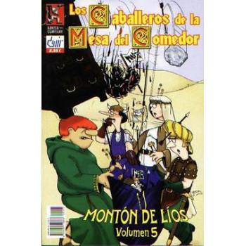 PACK LOS CABALLEROS DE LA MESA DEL COMEDOR (TOMOS 3, 4, 5, 7 Y 14)