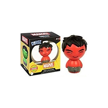 DORBZ 003 RED-HULK LIMITED EDITION CHASE VINYL COLLECTIBLE (OFERTA)