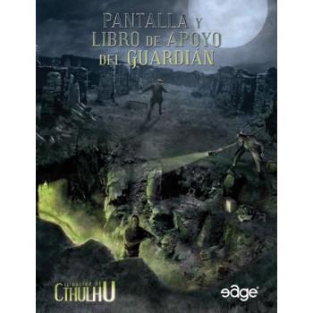 PANTALLA Y LIBRO DE APOYO DEL GUARDIAN (PANTALLA BLANDA 1ª EDICION) - EL RASTRO DE CTHULHU