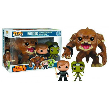 POP! PACK 3 RANCOR, LUKE...