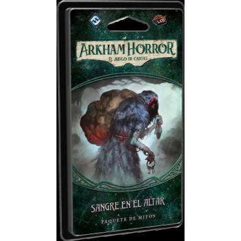 SANGRE EN EL ALTAR: EXPANSION ARKHAM HORROR - JUEGO DE CARTAS