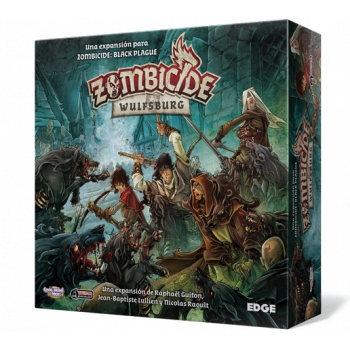 ZOMBICIDE WULFSBURG BLACK PLAGUE