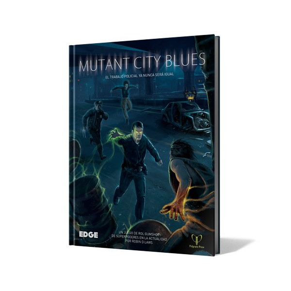 MUTANT CITY BLUES - MANUAL BASICO - ROL