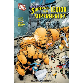 SUPERGIRL Y LA LEGION DE SUPERHEROES 10