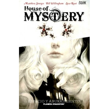 HOUSE OF MYSTERY 01 ESPACIO...