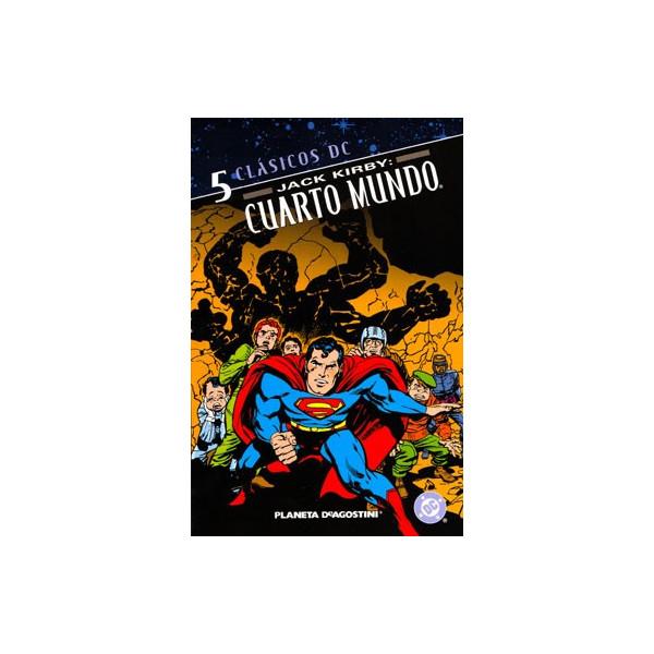 JACK KIRBY: CUARTO MUNDO 05 CLASICOS DC - Crash Comics