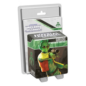 STAR WARS IMPERIAL ASSAULT: GREEDO - MERCENARIO AMBICIOSO