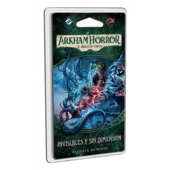 INVISIBLES Y SIN DIMENSION: EXPANSION ARKHAM HORROR - JUEGO DE CARTAS