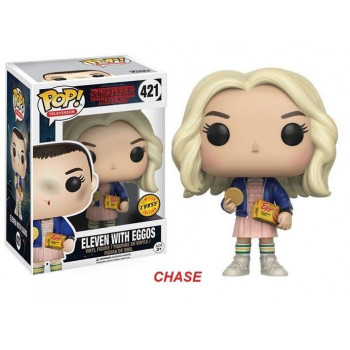 POP! 421 ELEVEN WITH EGGOS (CHASE). STRANGER THINGS